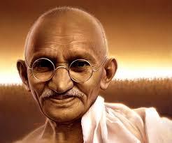 gnadhi colour portrait